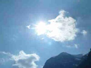 meditazione ampliare visione cielo
