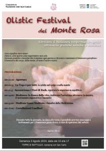 olistic festival del monterosa