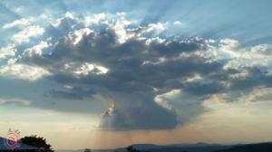 meditazione umbria albero nuvole