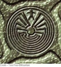 uomo e labirinto