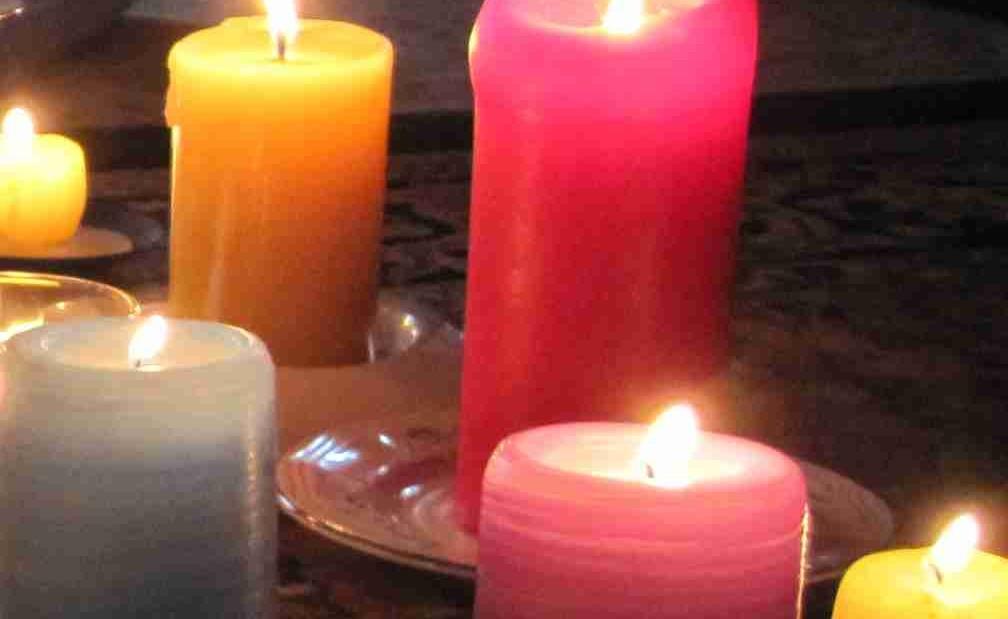 Meditazione candele or 2