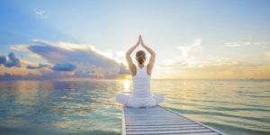 yoga tramonto